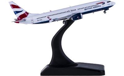 British Airways 英国航空 Boeing 737 MAX 8 ZS-ZCA