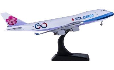 Phoenix 1:400 China Airlines 中华航空 Boeing 747-400F B-18701 货机 60周年