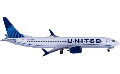 United Airlines 美国联合航空 Boeing 737 MAX 9 N27515
