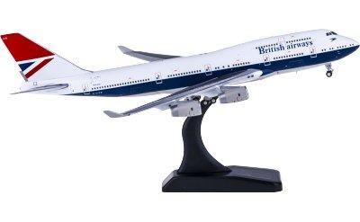 Geminijets 1:400 British Airways 英国航空 Boeing 747-400 G-CIVB