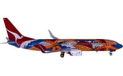Qantas 澳洲航空 Boeing 737-800 VH-VXB 蜥蜴之梦