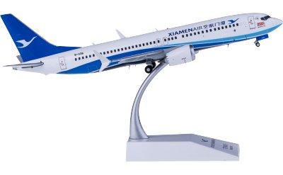 JC Wings 1:200 XiamenAir 厦门航空 Boeing 737 MAX 8 B-1136
