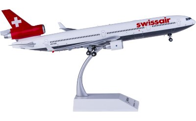 JC Wings 1:200 Swissair 瑞士航空 McDonnell Douglas MD-11 HB-IWE