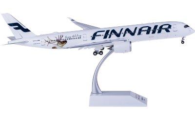 Finnair 芬兰航空 Airbus A350-900 OH-LWD 快乐假期 襟翼打开
