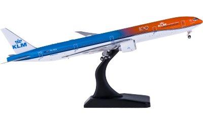 Phoenix 1:400 KLM 荷兰皇家航空 Boeing 777-300ER PH-BVA 橙色的骄傲
