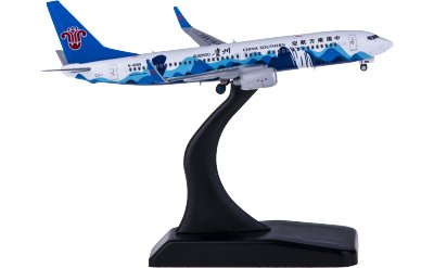JC Wings 1:400 China Southern 中国南方航空 Boeing 737-800 B-6068 多彩贵州