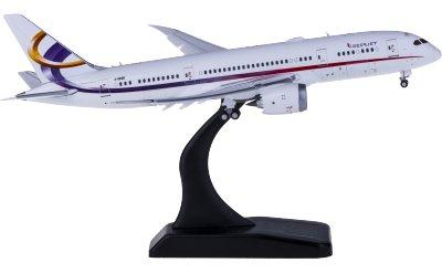 Deer Jet 金鹿公务航空 Boeing 787-8 2-DEER 襟翼打开