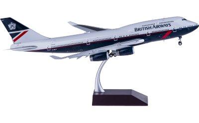 British Airways 英国航空 Boeing 747-400 G-BNLY 襟翼打开
