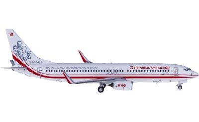 Polish Air Force 波兰空军 Boeing 737-800 0110 波兰政府专机