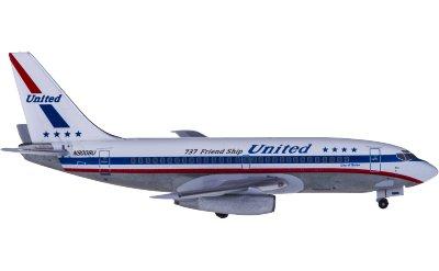 United Airlines 美国联合航空 Boeing 737-200 N9008U