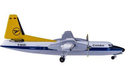 Condor 神鹰航空 Fokker F-27 D-BARI