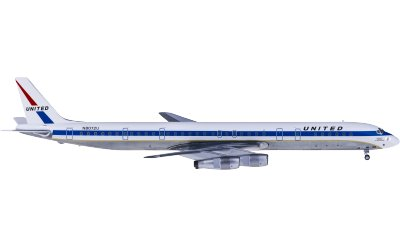 United Airlines 美国联合航空 Douglas DC-8-61 N8072U