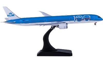 KLM 荷兰皇家航空 Boeing 787-10 PH-BKA 100周年 襟翼打开