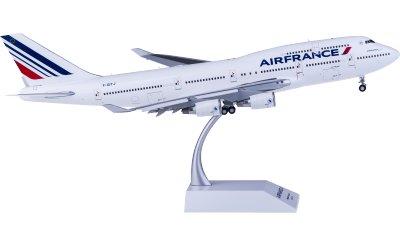 Air France 法国航空 Boeing 747-400 F-GITJ 襟翼打开