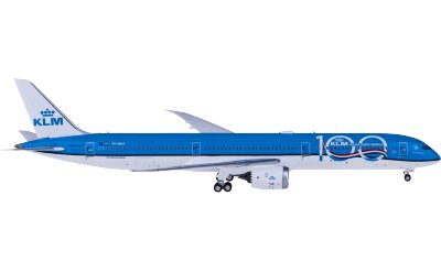 Ngmodel 1:400 KLM 荷兰皇家航空 Boeing 787-10 PH-BKA 100周年