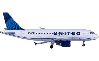 United Airlines 美国联合航空 Airbus A319 N3303U