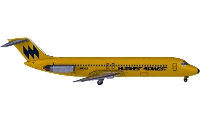Hughes Airwest McDonnell Douglas DC-9 N9332