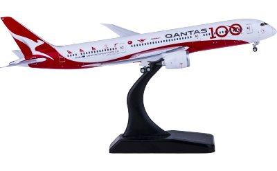 Geminijets 1:400 Qantas 澳洲航空 Boeing 787-9 VH-ZNJ 100周年