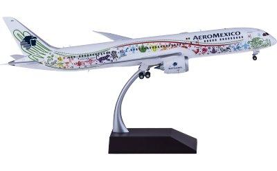 Aeroméxico 墨西哥国际航空 Boeing 787-9 XA-ADL 羽蛇神彩绘