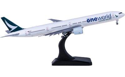 Cathay Pacific 国泰航空 Boeing 777-300ER B-KQI 寰宇一家 襟翼打开