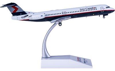 Inter Canadian Fokker 100 C-FICP