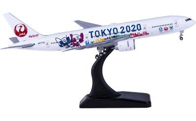 JC Wings 1:400 Japan Airlines 日本航空 Boeing 777-200ER JA773J