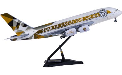 JC Wings 1:200 Etihad Airways 阿提哈德航空 Airbus A380 A6-APH