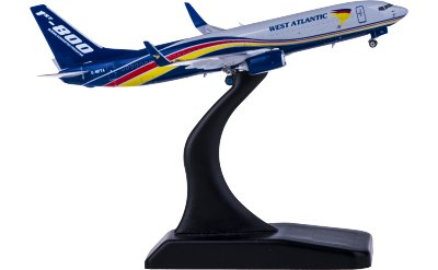 West Atlantic Boeing 737-800 G-NPTA