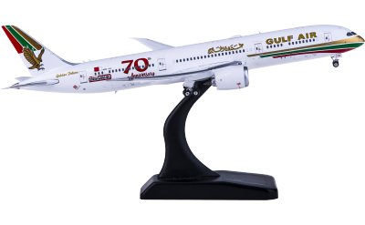 Gulf Air 海湾航空 Boeing 787-9 A9C-FG 70周年彩绘