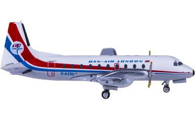 Dan-Air Hawker Siddeley HS 748 G-AZSU