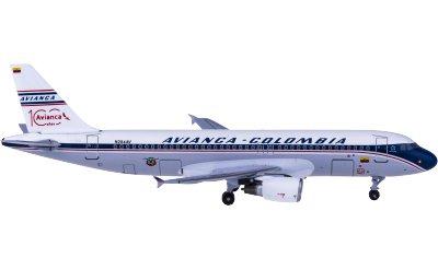 Avianca 哥伦比亚航空 Airbus A320 N284AV 100周年