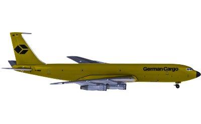 German Cargo Boeing 707-300 D-ABUE 货机