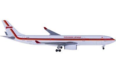 Garuda Indonesia 印度尼西亚鹰航 Airbus A330-300 PK-GHD 复古彩绘