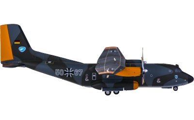 Luftwaffe 德国联邦国防军空军 Transall C-160 50+67