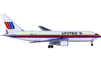 United Airlines 美国联合航空 Boeing 767-200 N607UA