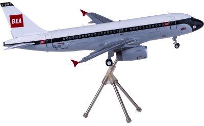 Geminijets 1:200 British Airways 英国航空 Airbus A319 G-EUPJ 复古彩绘