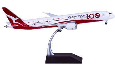 Qantas 澳洲航空 Boeing 787-9 VH-ZNJ 100年彩绘