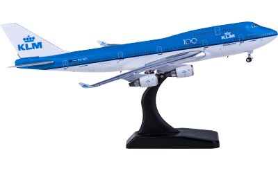Phoenix 1:400 KLM 荷兰皇家航空 Boeing 747-400 PH-BFI