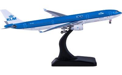 Phoenix 1:400 KLM 荷兰皇家航空 Airbus A330-300 PH-AKD 100周年
