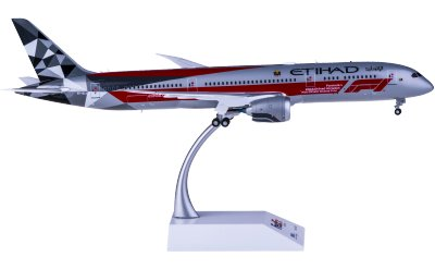 Etihad Airways 阿提哈德航空 Boeing 787-9 Dreamliner A6-BLV F1 彩绘