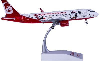 Air Berlin 柏林航空 Airbus A320 D-ABNM 圣诞彩绘