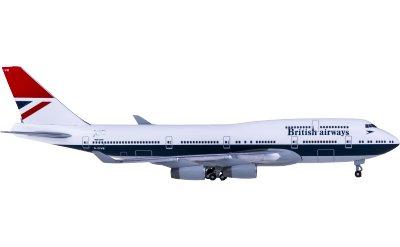 British Airways 英国航空 Boeing 747-400 G-CIVB 100周年