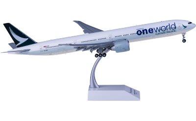 JC Wings 1:200 Cathay Pacific 国泰航空 Boeing 777-300ER B-KQI 寰宇一家 襟翼打开