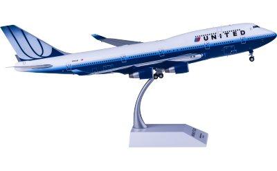 United Airlines 美国联合航空 Boeing 747-400 N104UA