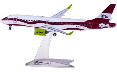 airBaltic 波罗的海航空 Airbus A220-300 YL-CSL Latvia 100