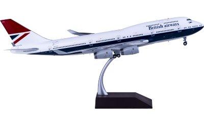 British Airways 英国航空 Boeing 747-400 G-CIVB 复古彩绘