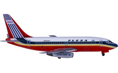 PLUNA 乌拉圭航空 Boeing 737-200 CX-BHM