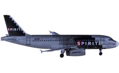 Spirit Airlines 精神航空 Airbus A319 N525NK