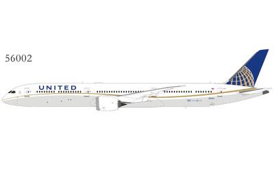 United Airlines 美国联合航空 Boeing 787-10 N17002