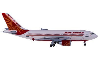 Air India 印度航空 Airbus A310-300 VT-EJJ